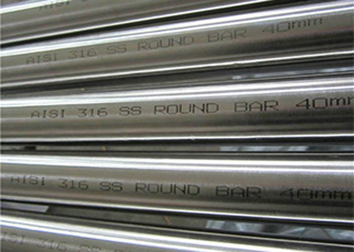 Круглый пруток из нержавеющей стали ASTM A276 AISI 316