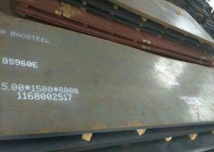 960 высокопрочная стальная пластина
